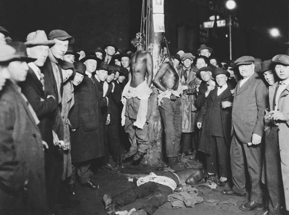 Jim Crow Benefactors at work in Duluth, Georgia, proudly lynching over anything they determined was a crime, while bypassing Sixth Amendment which wouldn't have mattered given only white males were allowed to serve as judge, juror and prosecutor.