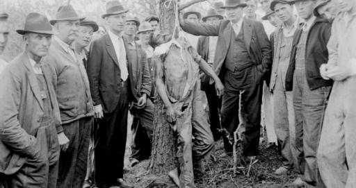 Jim Crow Benefactors at work in Florida, proudly lynching over anything they determined was a crime, while bypassing Sixth Amendment which wouldn't have mattered given only white males were allowed to serve as judge, juror and prosecutor.