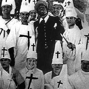 Ku Klux Klan lynching. John McCain's direct relative, William David McCain, was grand dragon of Mississippi's KKK and a staunch segregationist with zero problems killing any non-whites or Jews to keep segregation in place.