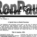 Ron Paul '90s newsletters rant against blacks, gays